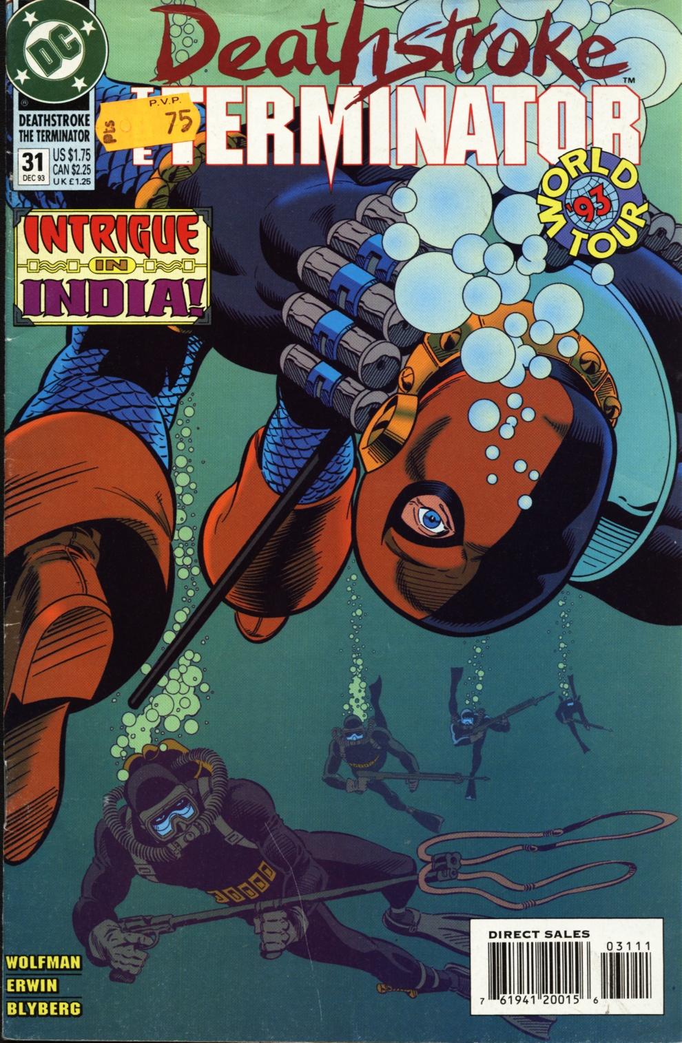 Deathstroke (1991) Issue #31 #36 - English 1