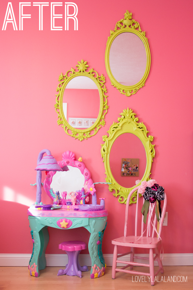 Little Girls Room Pink and Purple