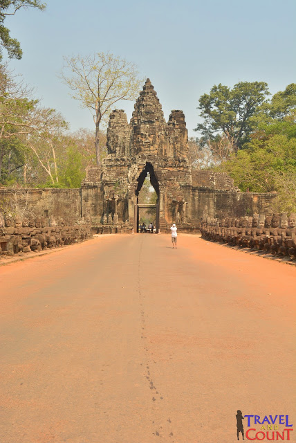 Bayon South Gate, Siem Reap