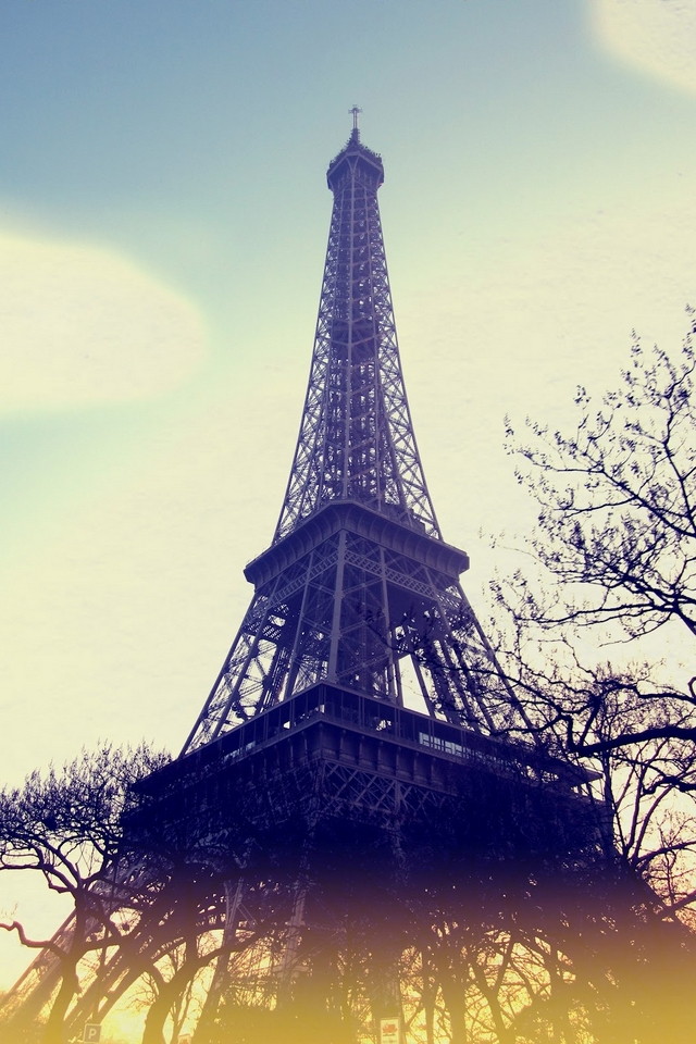 Eiffel Tower Download Iphone Ipod Touch Android Wallpapers