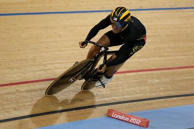 Azizulhasni Mara ke Pusingan Kedua Keirin Olimpik London 2012