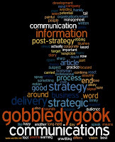 picture of a word cloud of the PHPR post on the importance of good clear communications