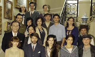 Reparto de la serie 14 de abril, La República, secuela de La Señora