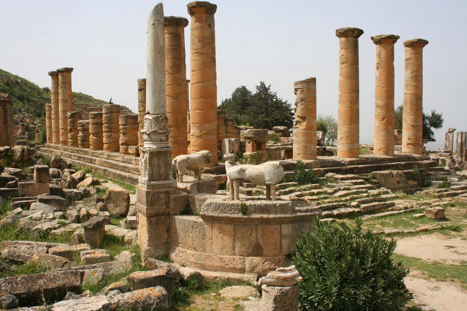 Ο Ναός του Απόλλωνος στην Λιβύη. (7ος αιώνας π.Χ.)