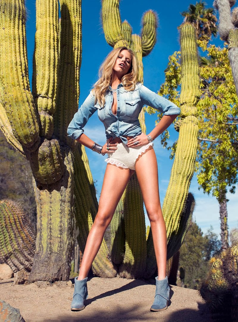 Hailey Clauson HQ Pictures Guess US Magazine Photoshoot Spring/Summer 2014