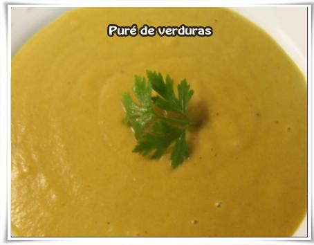 Recetas de puré, verduras