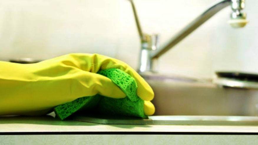 Cara Membersihkan Kuman di Dapur