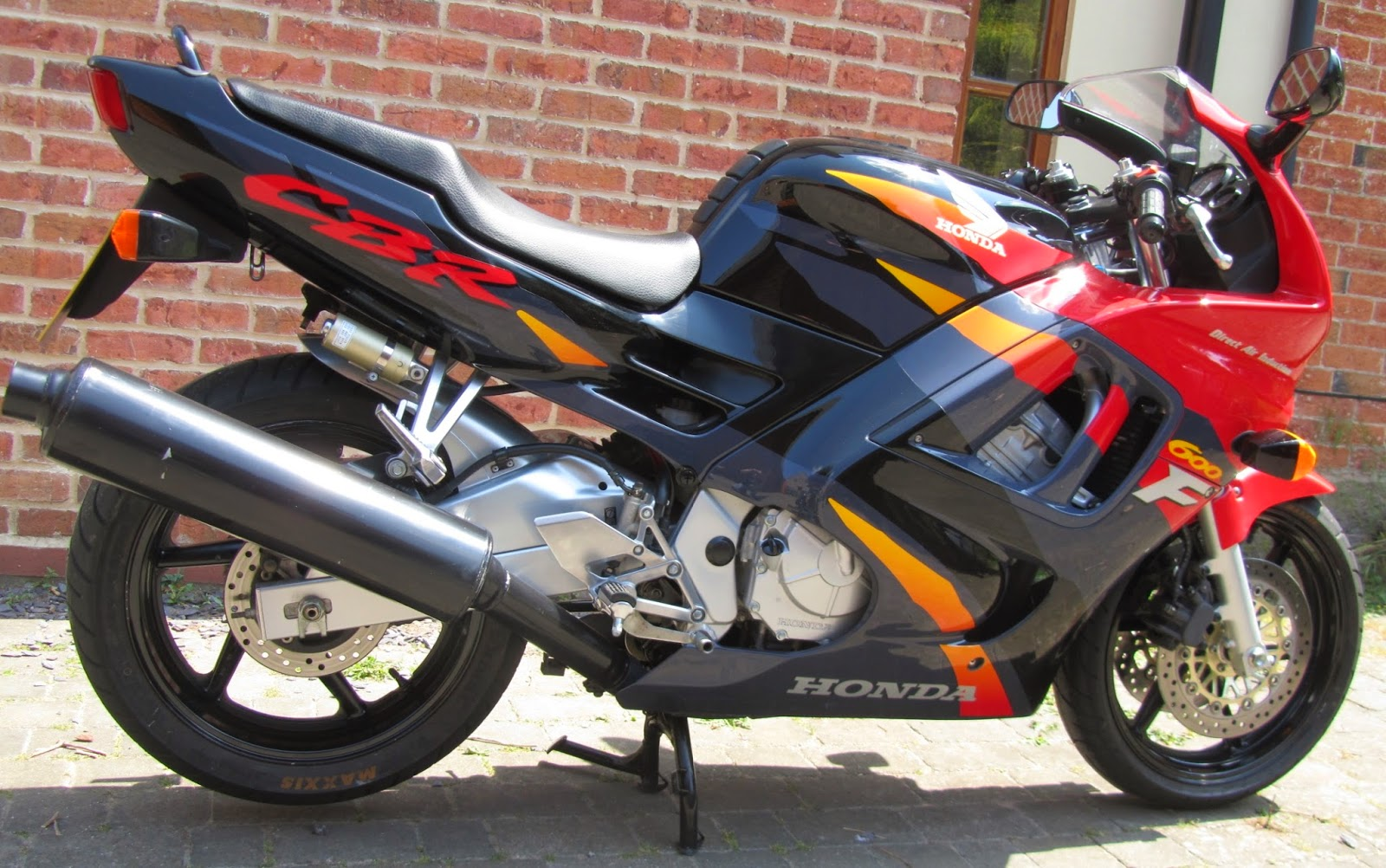 CBR600 FS 1995 UK Specification Red/Black