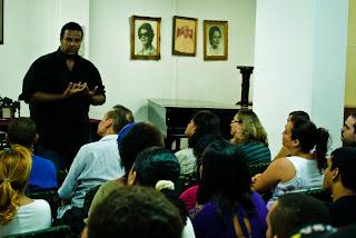 foto: Peterson Azevedo - Palestra de Marcus Leone no IMUCSAL