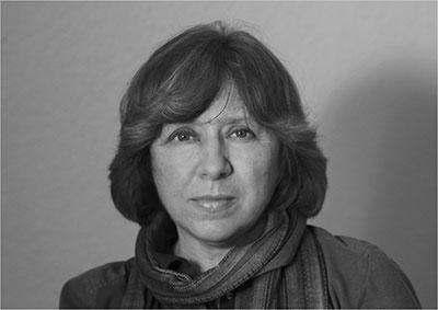 SVETLANA ALEXIEVICH, Premio Nobel de Literatura, 2015