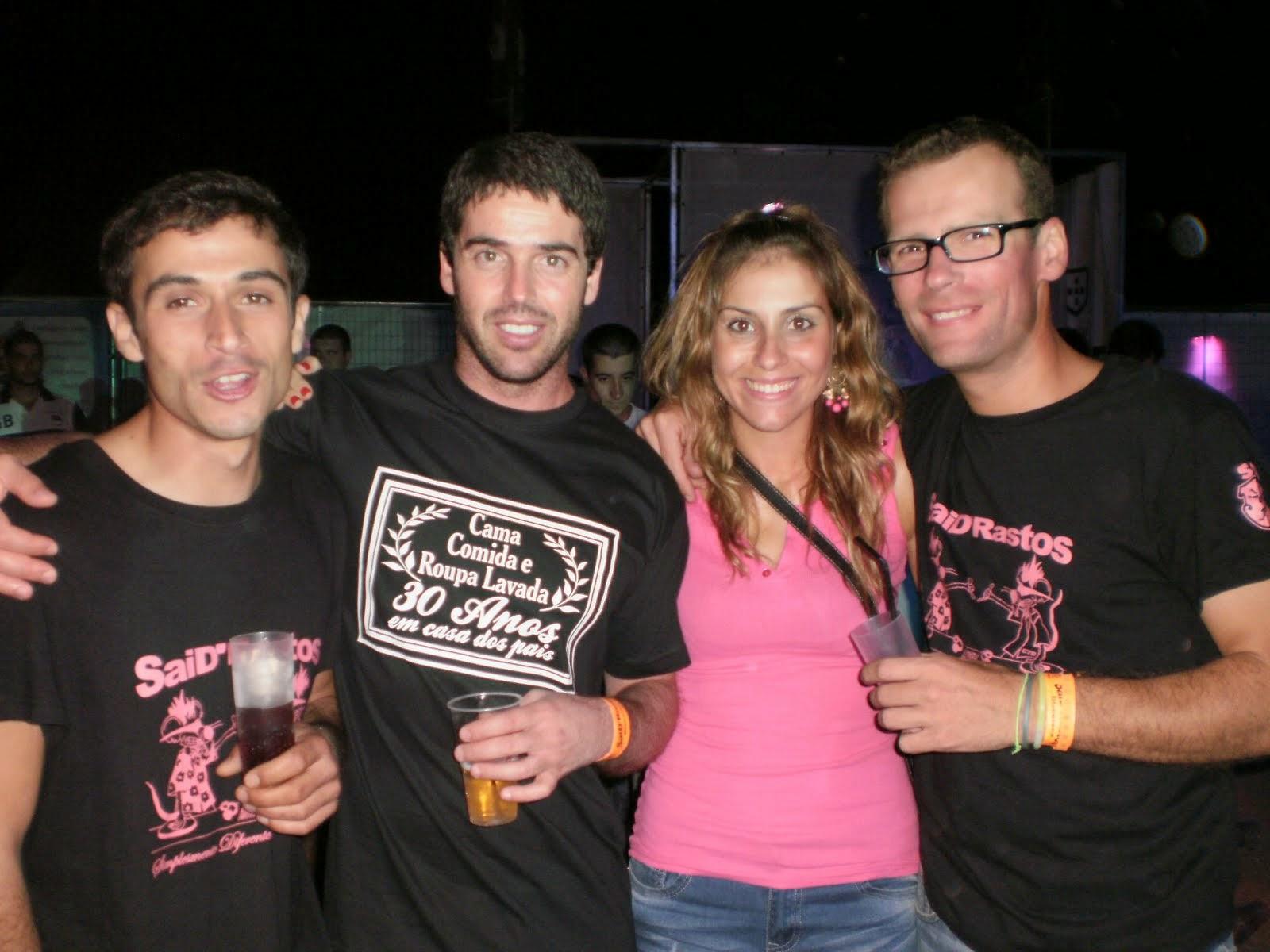 Mauro, Óscar, Sara & Dj_MC