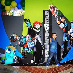 Fiestas Infantiles Decoradas con Bajoterra, parte 2