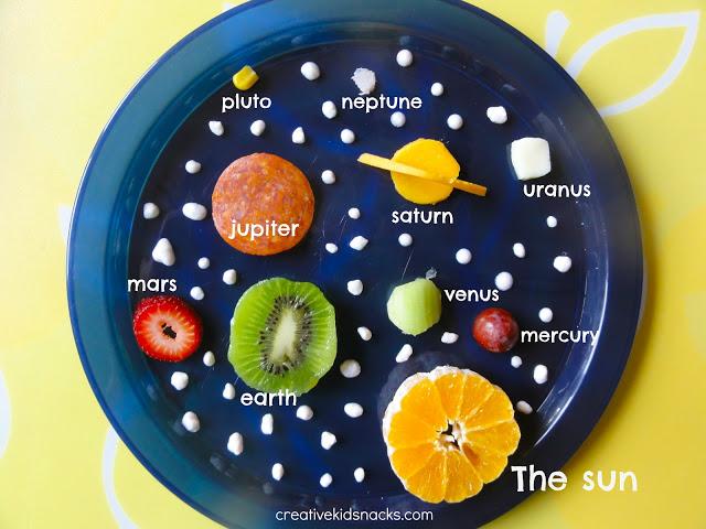Solar System Food