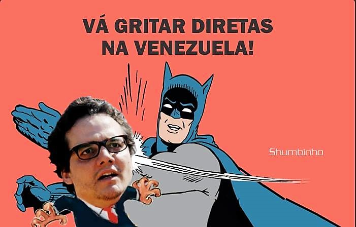 Ó Wagner, vai gritar na Venezuela!