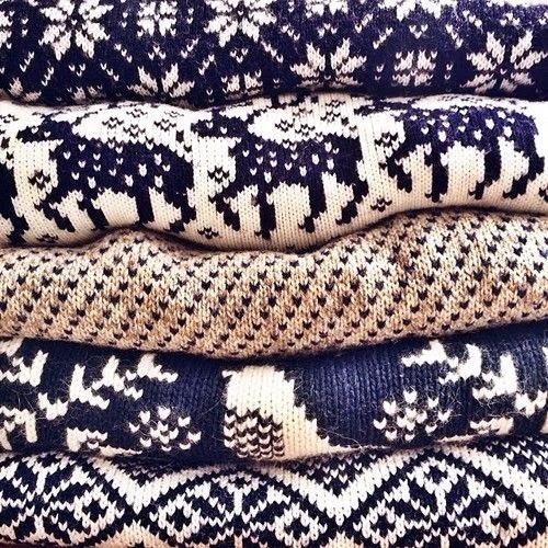 jerseis navidad azul marino