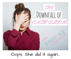 The Downfall of Catie Bloom Book Blitz