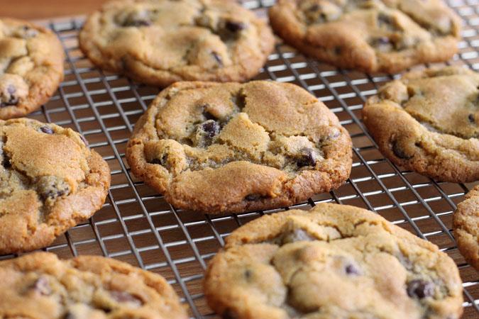 Chewy Gooey Flourless Chocolate Cookies Recipe — Dishmaps