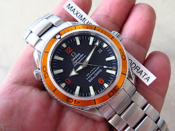 OMEGA SEAMASTER PROFESSIONAL 42mm ORANGE BEZEL aka OMEGA PLANET OCEAN-CO AXIAL CAL 2500 CHRONOMETER