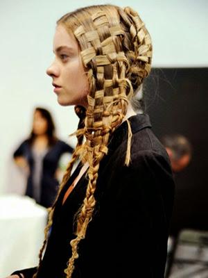 Raros peinados 2014 look excentrico