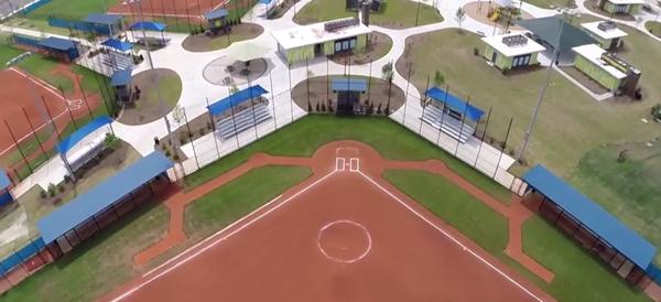 Concession stands - North Myrtle Beach Park & Sports Complex