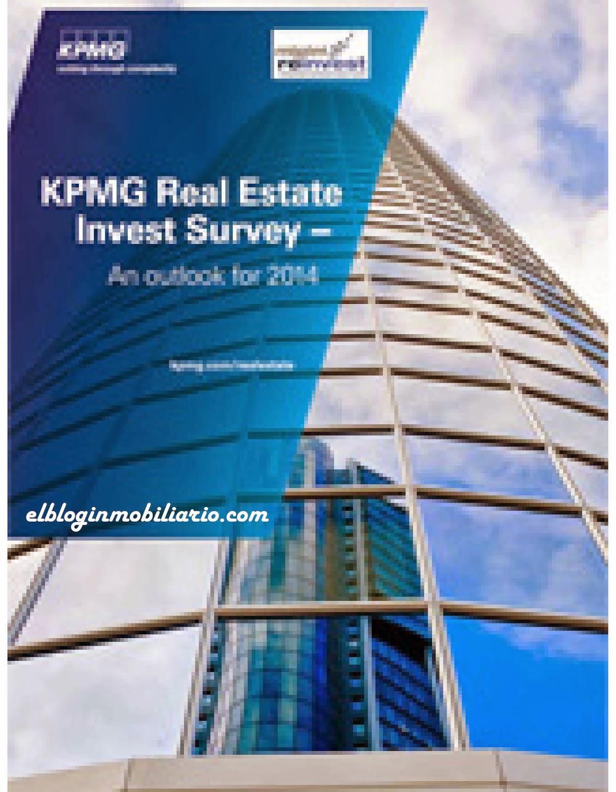 KPMG Real Estate España invertir sector inmobiliario elbloginmobiliario.com