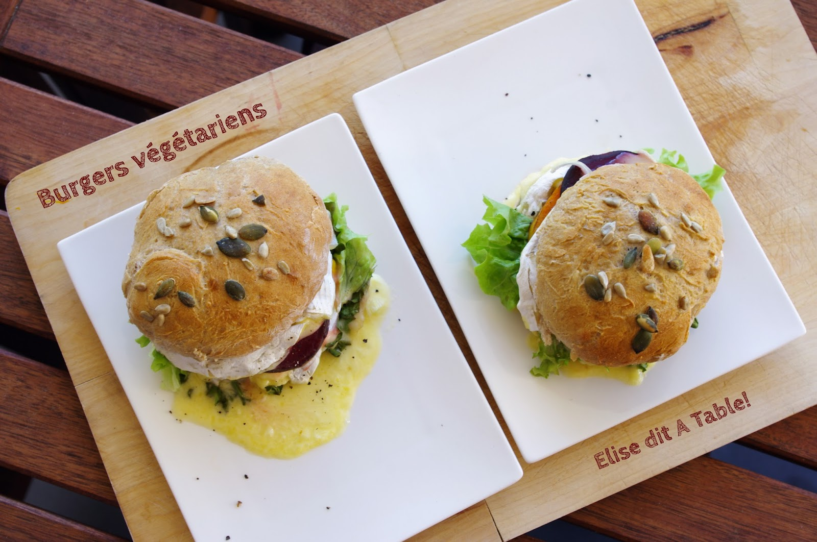 recette Burgers végétariens