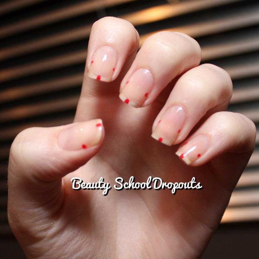 Red Nail Polish Lana Del Rey: Beauty School Dropouts: Lana Del Rey Nails: Tutorial
