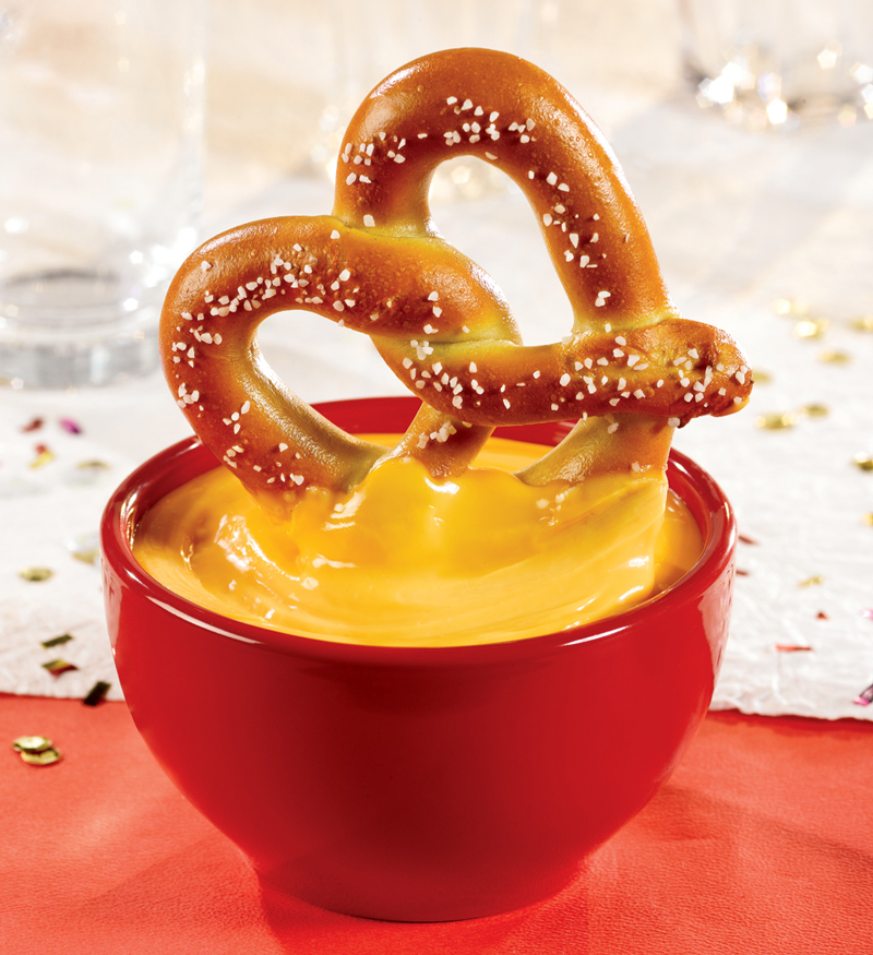 Image result for soft pretzel and cheese