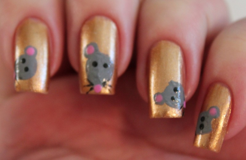 Not Even A Mouse Mouse Nail Art Set In Lacquer