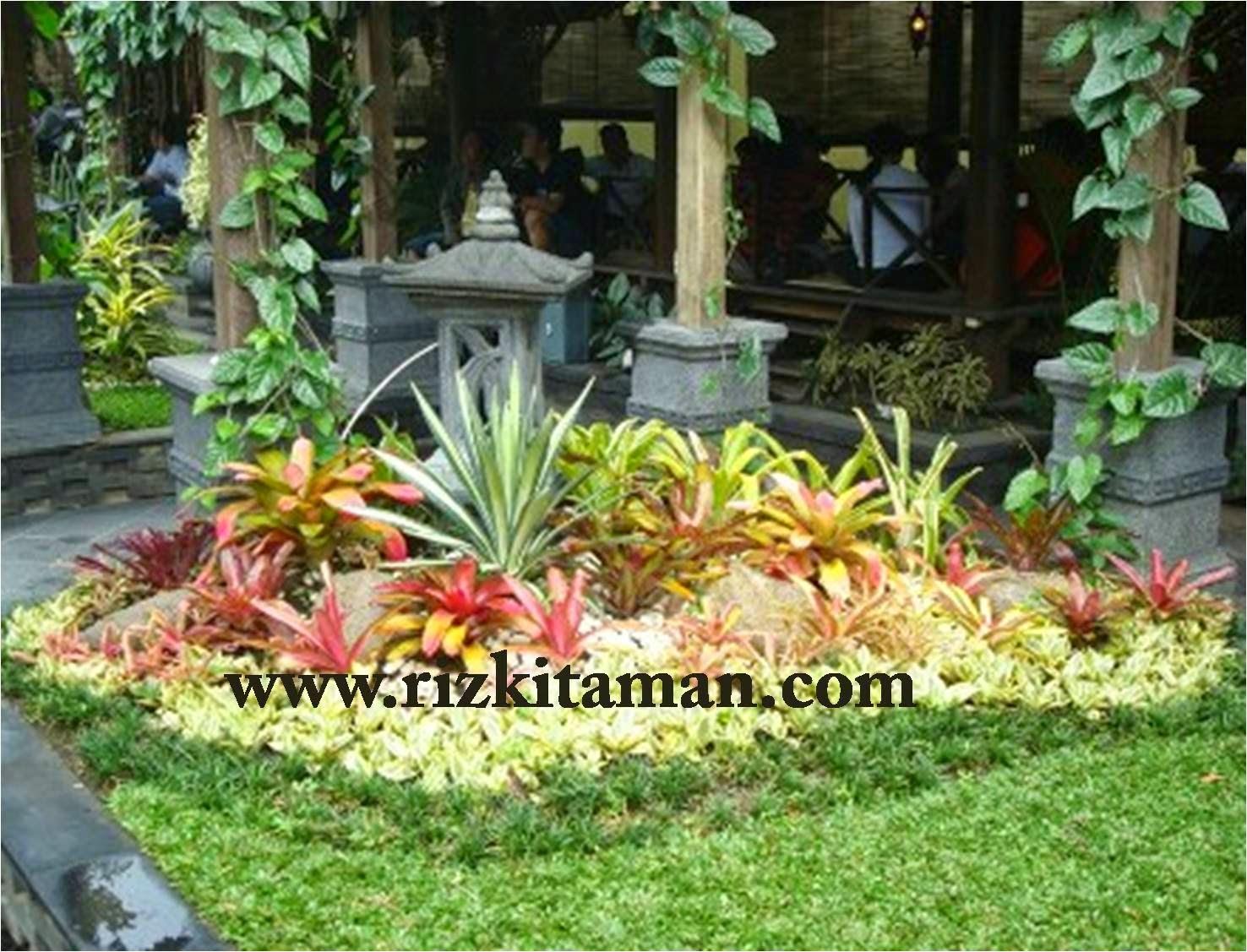 Tukang taman | desain taman bali | pembuatan taman rumput dan taman kering
