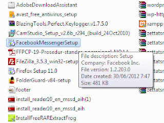 Cara Install Facebook FB Messenger