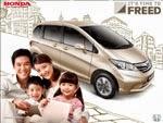 Paket Kredit Mobil Honda Freed Bandung
