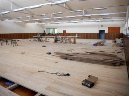 Kenshikan 39 s new floor and official dojo reopening for Kendo dojo locator