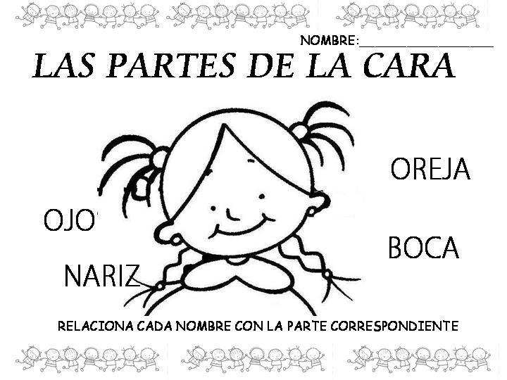 Educadoras Preescolar: Caritas niños- niñas Moldes