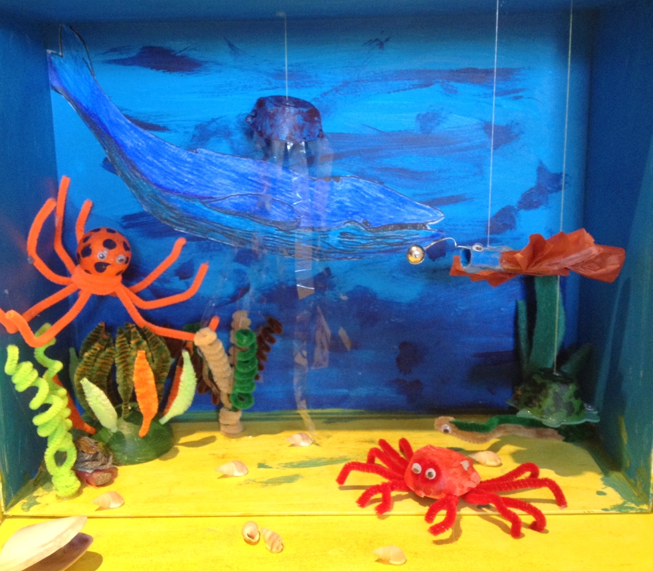 top ocean habitat diorama - photo #33