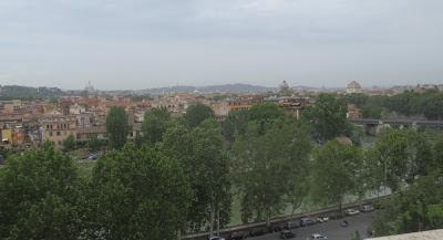 Ausblick nahe Santa Sabina