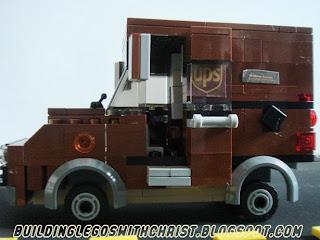 LEGO UPS Truck, Cool LEGO Creations