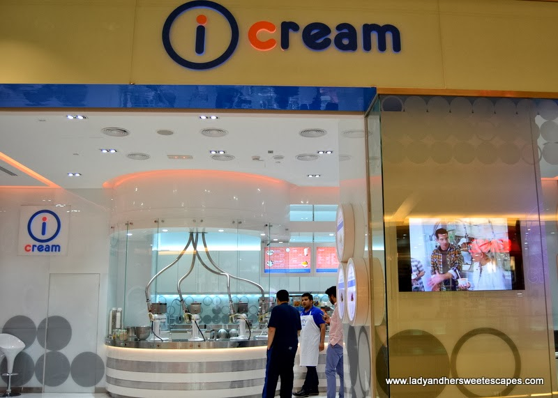 iCream Cafe at Al Ghurair Centre Dubai