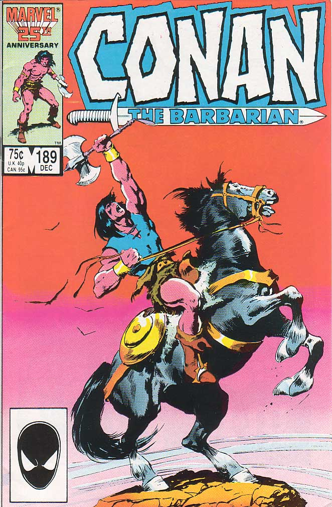 Conan the Barbarian (1970) Issue #189 #201 - English 1