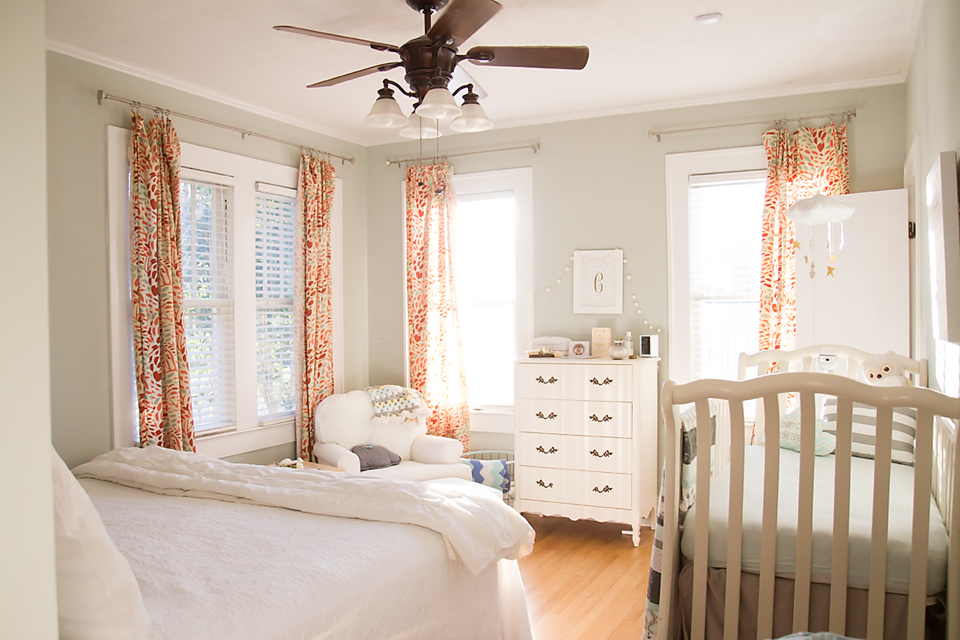 Master Bedroom Nursery Old House Tour Behind The Camera And Dreaming
