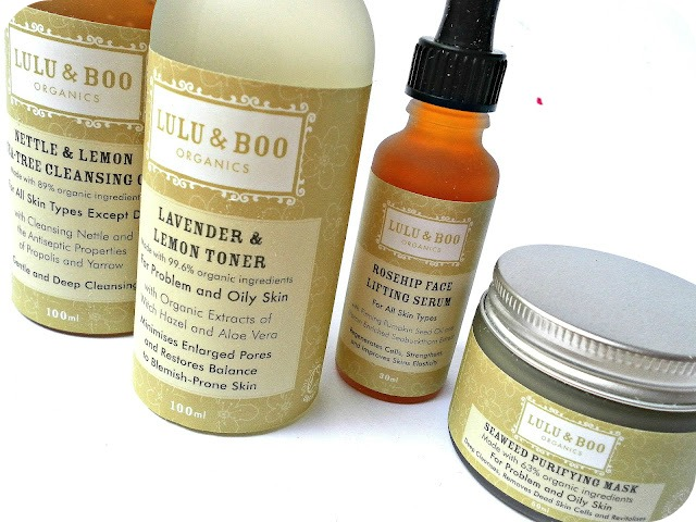 A picture of Lulu & Boo Skincare Products