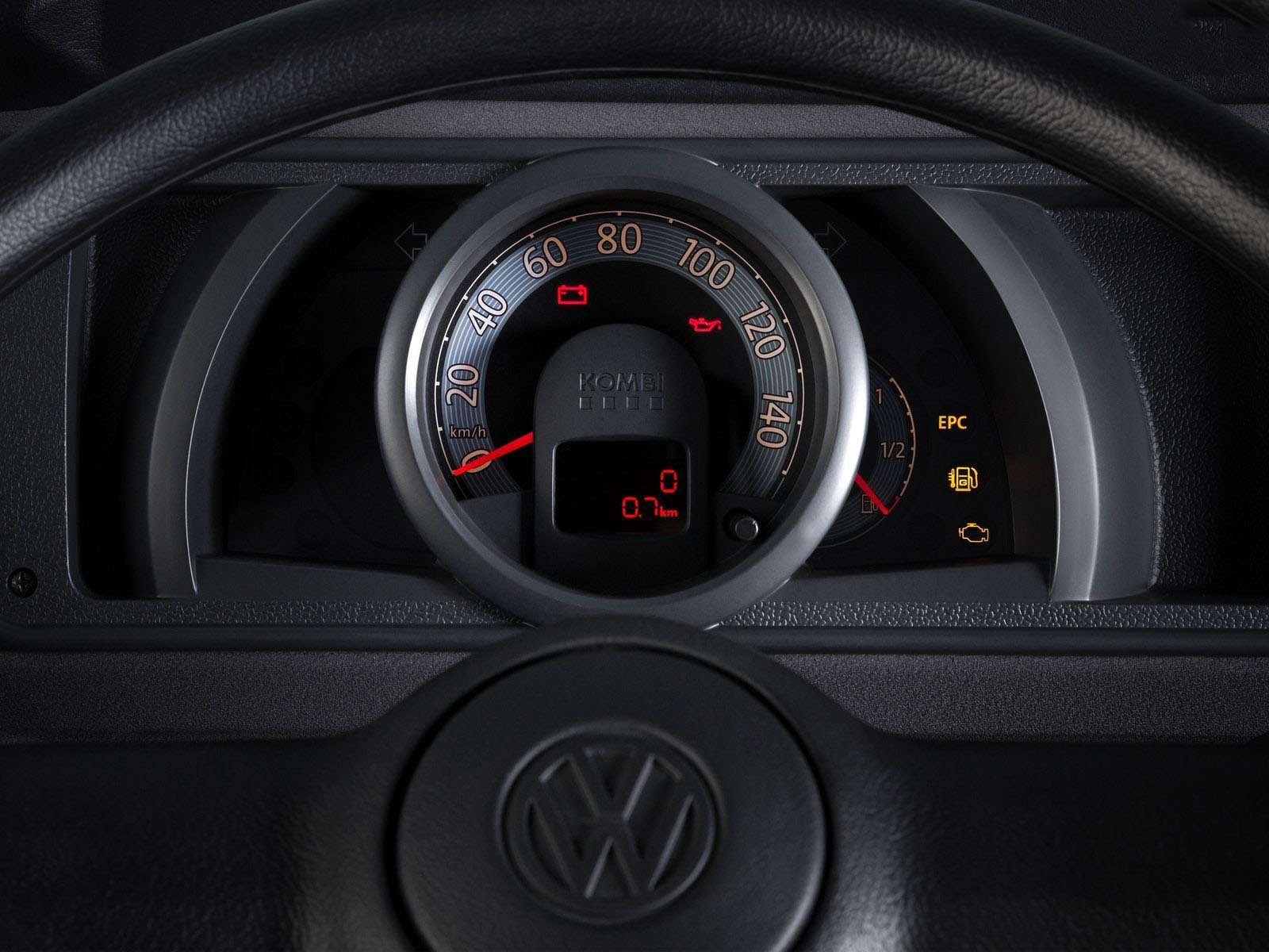 novo Volkswagen Kombi edição especial 2014 painel