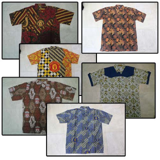 Model Baju Batik Bola
