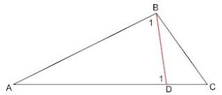 אם צלע אחת גדולה מצלע שנייה אז הזווית שמול הצלע הקטנה, קטנה מהזווית שמול הצלע הגדולה