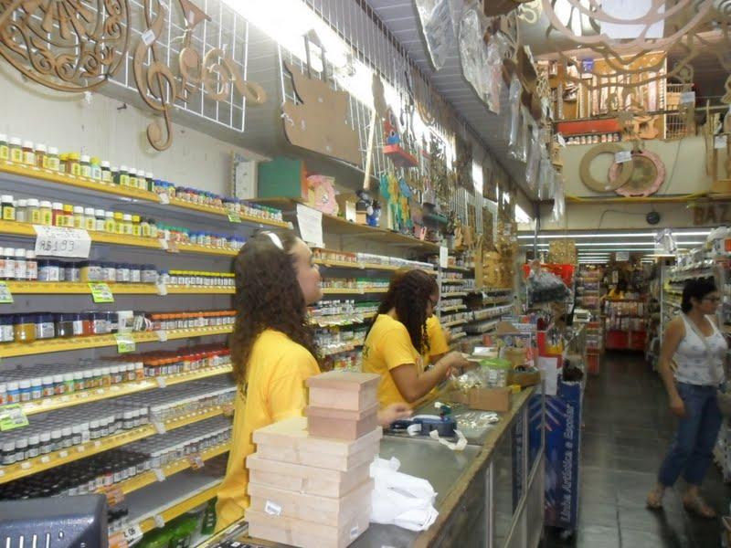 Artesanato Jornal Passo A Passo ~ Postando Sobre Artes atualizado c a loja de tecidos Vamos as compras no Saara?