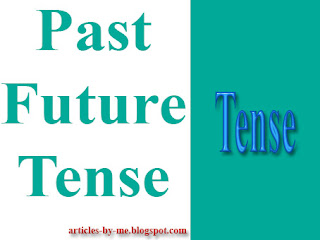 Pengertian Past Future Tense