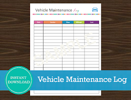 Vehicle Maintenance Log