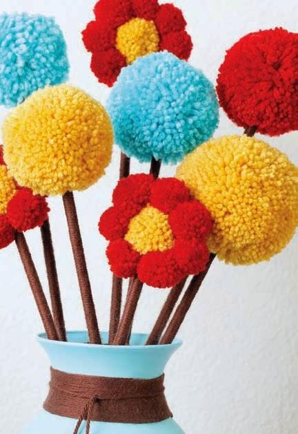 Pompom çiçek