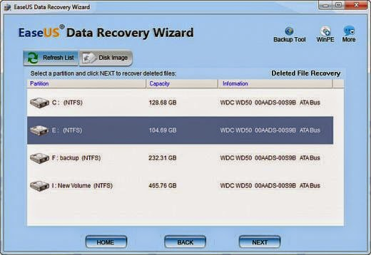 EaseUS Data Recovery Wizard Direct download~Portable Apps