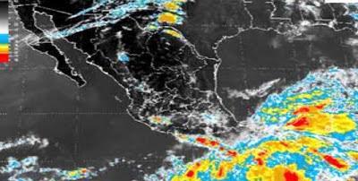 TORMENTA TROPICAL EN EL SUR DE MEXICO PODRIA CONVERTIRSE EN HURACAN EN 24 A 48 HORAS